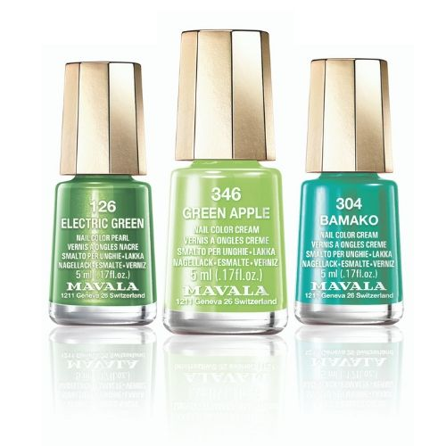 GREEN SHADE MINI COLOURS