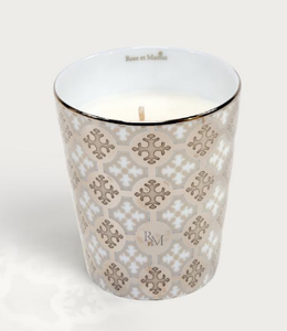 Rose et Marius - Neou Beige and Tometo Red Tumbler Candles - Luxor Box