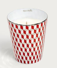 Load image into Gallery viewer, Rose et Marius - Neou Beige and Tometo Red Tumbler Candles - Luxor Box