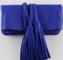 Load image into Gallery viewer, Shaffer LA - Blue Julian Leather Purse - Luxor Box