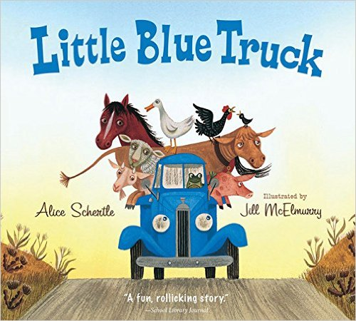 Best Books for Babies & Toddlers: Little Blue Truck Leads the Way by Alice Schertle
