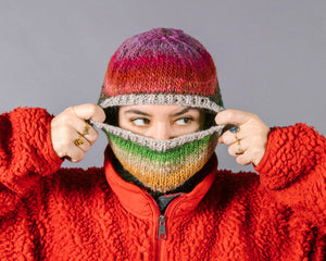 Hand-Knitted Balaclavas Lookbook Collection Three