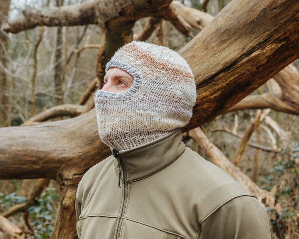 Hand-Knitted Balaclavas Lookbook Collection Four