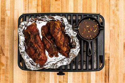 COUNTRY STYLE RIBS WITH MOP SAUCE