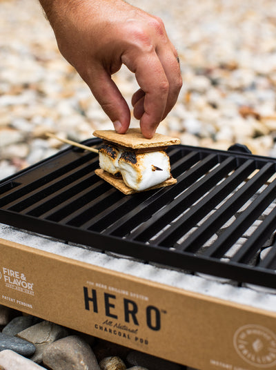 HERO GRILLED S'MORES