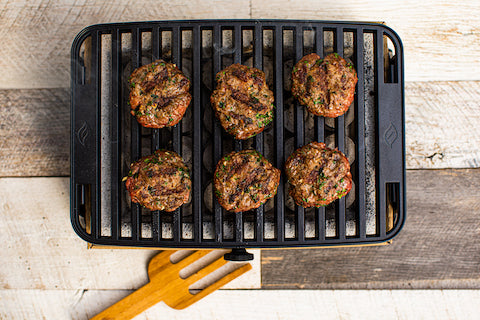 Venison Kefta Slider Burgers on the HERO Grill