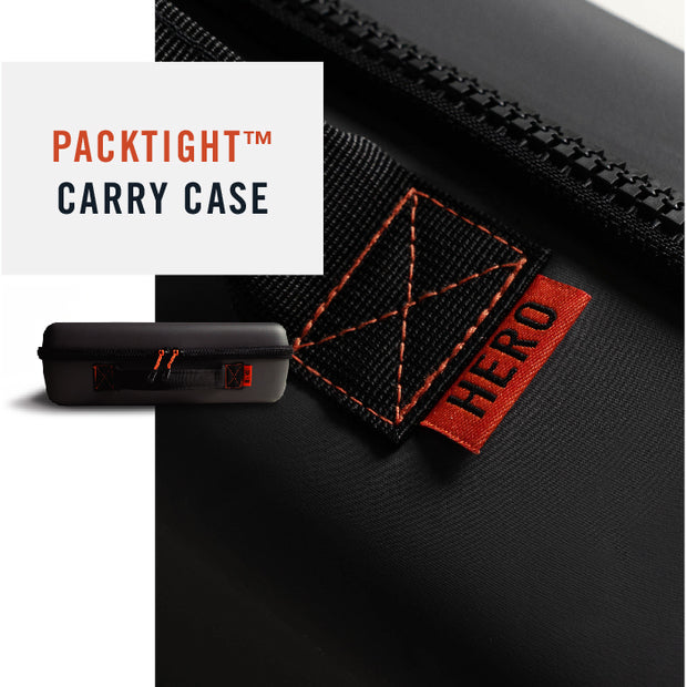 Hero Packtight Grill Carry Case is Rugged, Durable and Waterproof.