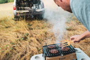 Hero Grills are compact grills allowing you to grill just about anywhere.