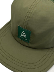 Fire & Flavor Mesh Hat (Olive)