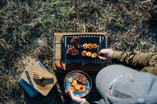 Hero™ Portable Charcoal Grill System + HERO™ Lighter