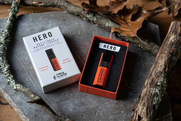 HERO Compact Refillable Butane Lighter
