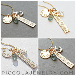 New Baby Name Necklace