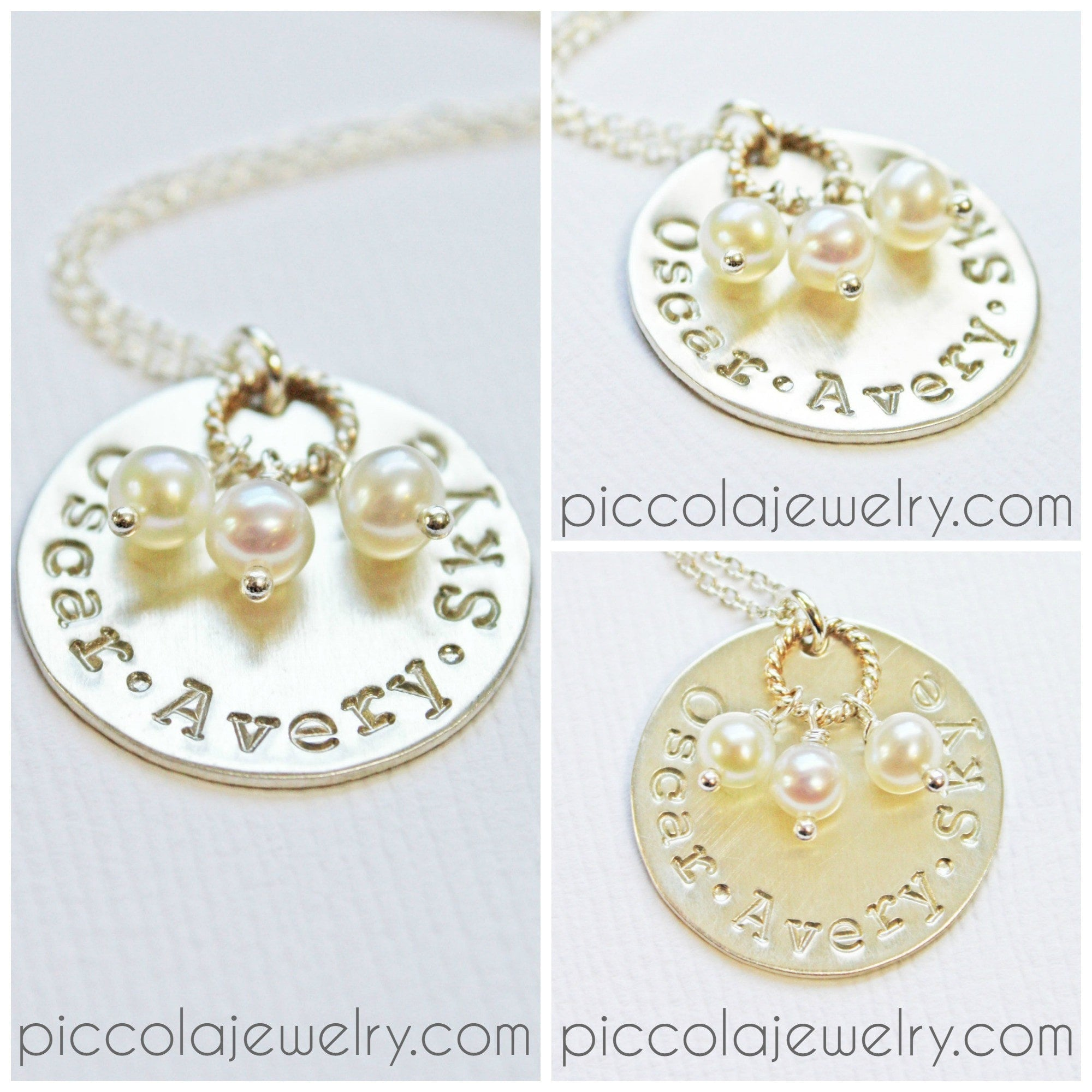 new chloe necklace bridesmaid media dainty gift gold children baby girl personalized charm tiny rose mom name
