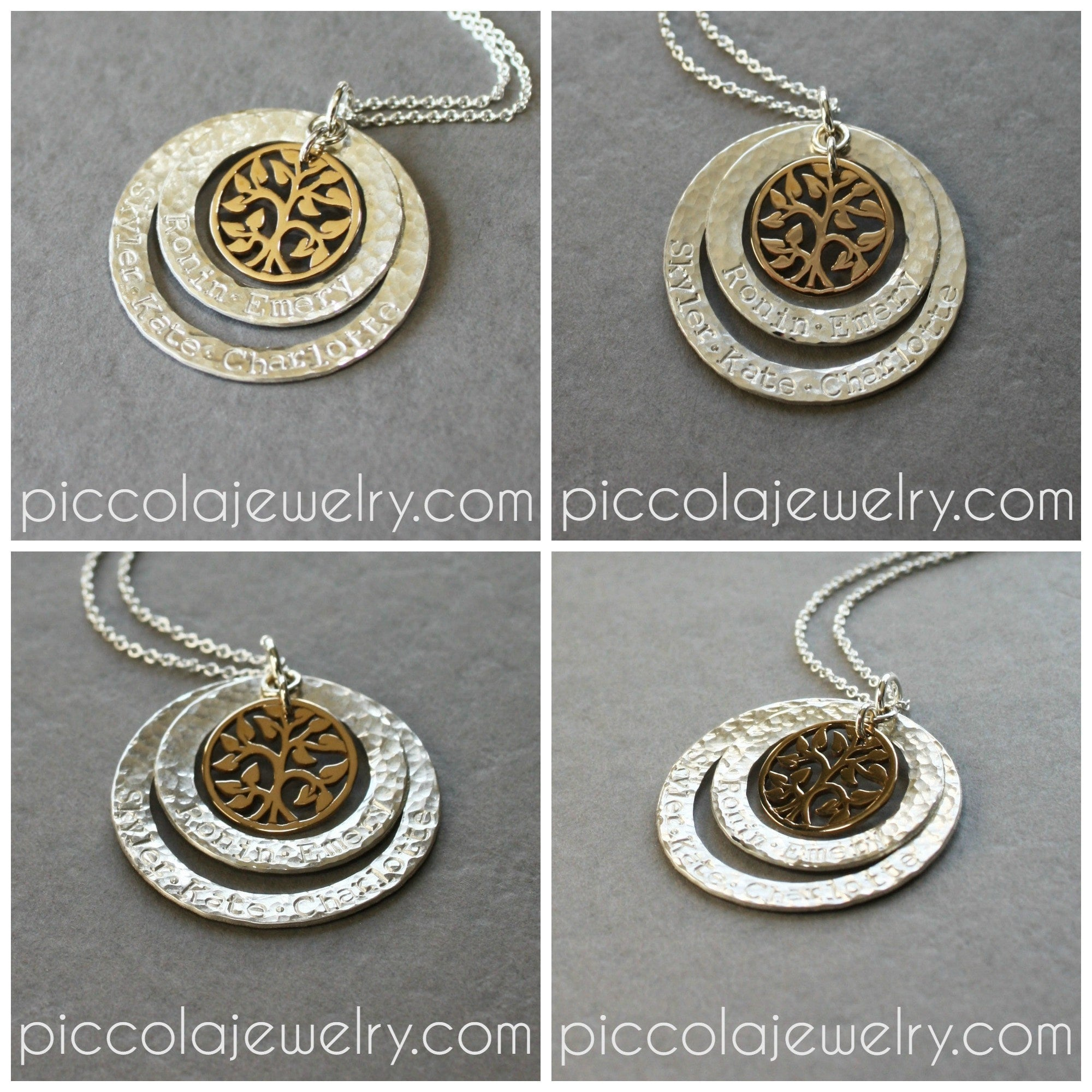 personalized necklace personalize tea washer names products kids with gift sweet jewelry for mom