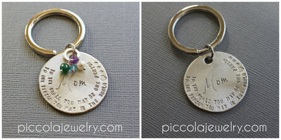 Mother's Day Gift - Personalized Keychain