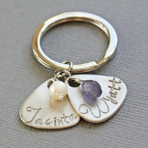Personalized Mothers Keychain