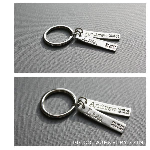 Gift for Men - Personalized Key Ring