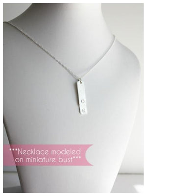 Piccola Jewelry Layered Bar Necklace