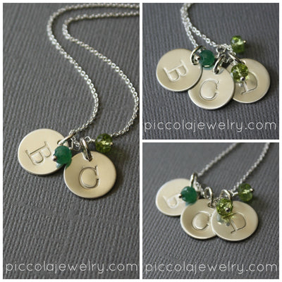 Subtle Modern Mother's  Necklace