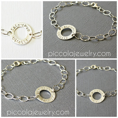 Mommy Bracelet with Kids Names