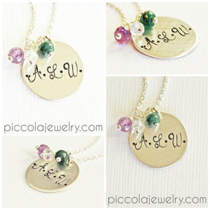 Letter Jewellery for Mum