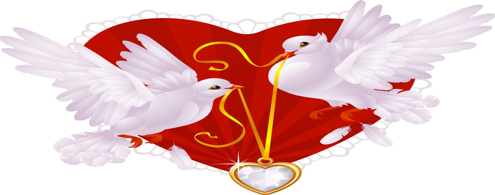 valentine 's day birds symbol