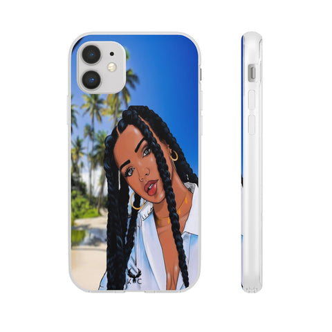 iPhone Cases For Girls <br> Black Girl in the beach
