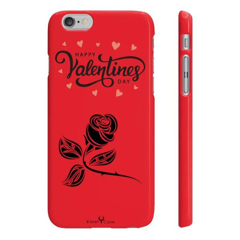 "iPhone Cases Valentine's day <br> Sensual Love ""Red"""