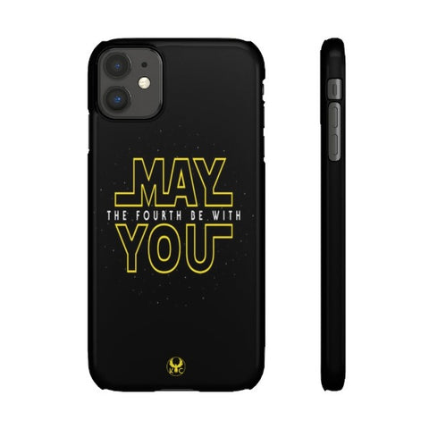 iPhone Cases May The 4th Be With You <br> The Force