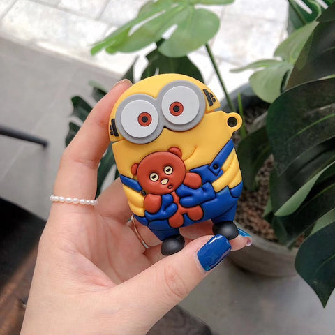 Cute Airpods Case <br> Minion Airpod Case