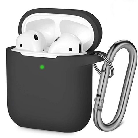 Cute Black Silicone AirPod Case