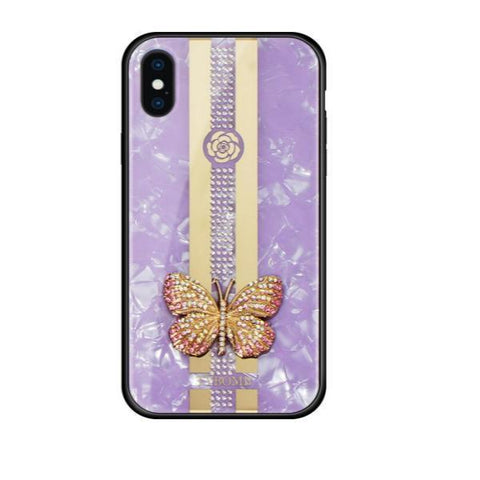 Luxury-Purple-Butterfly-iPhone-Case