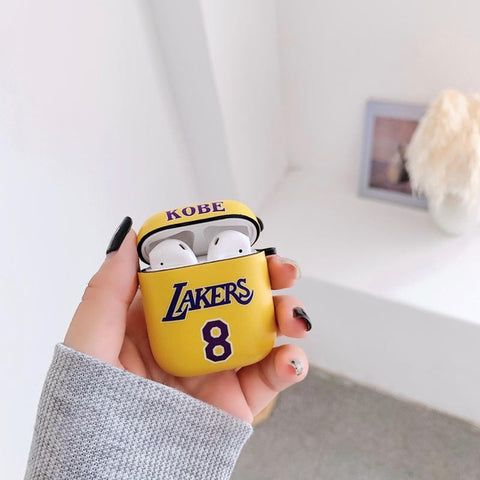 Lakers basketball Airpod Case-KazerCase