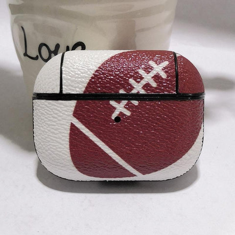 Leather Rugby AirPod Case-KazerCase
