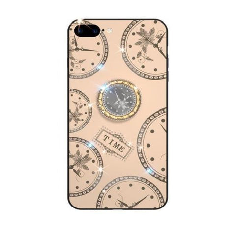 iPhone Case Clock-Pink | KazerCase