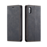 iPhone Case Deluxe Leather-Black | KazerCase