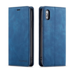 iPhone Case Deluxe Leather-Blue | KazerCase