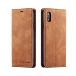 iPhone Case Deluxe Leather-Brown | KazerCase
