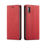 iPhone Case Deluxe Leather-Red | KazerCase