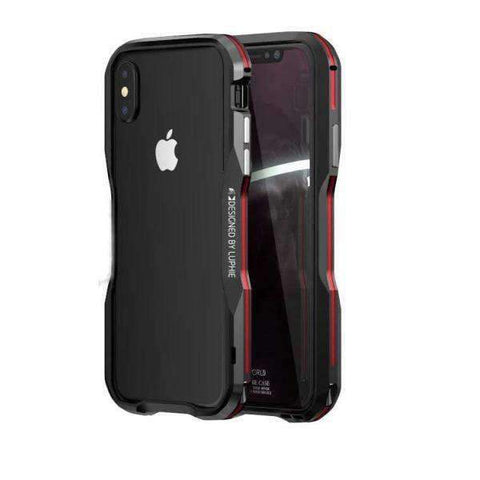 iPhone Case Futuristic Bumper-Black Red | KazerCase