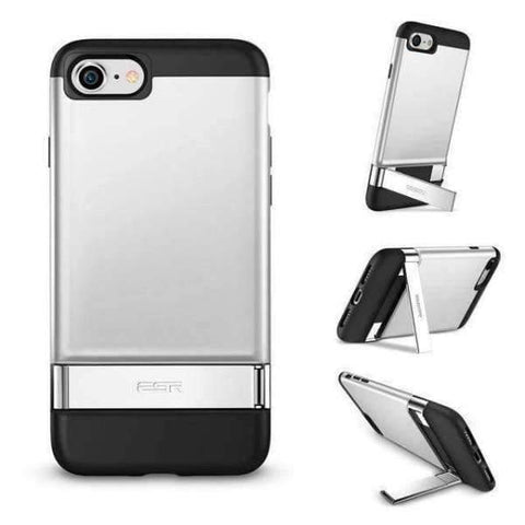 iPhone Case Metal Bumper-Silver | KazerCase