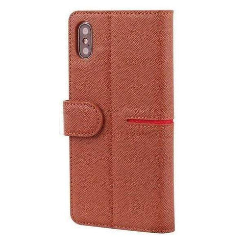 iPhone Case Premium Leather-Brown | KazerCase