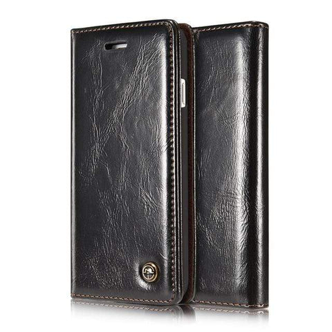 iPhone Case Prestige Leather-Black | KazerCase