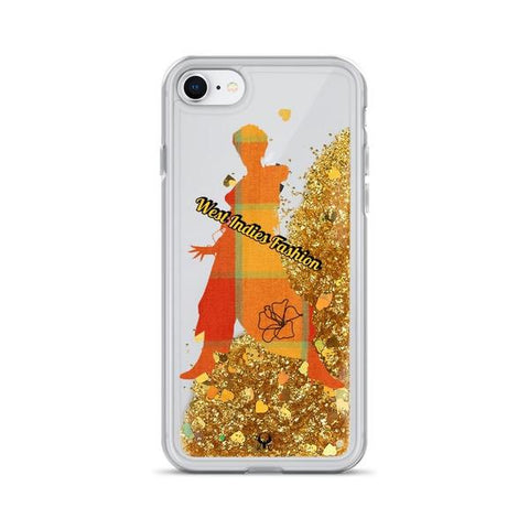 iPhone Case West Indies Fashion-Gold-iPhone 7, iPhone 8