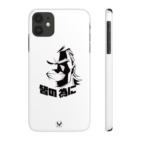iPhone Cases Anime All Might White-iPhone 11