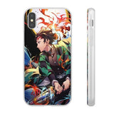 iPhone Cases Anime Demon Slayer Tanjiro-iPhone X