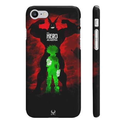 iPhone Cases Anime My Hero Academia All Might-iPhone 7, iPhone 8