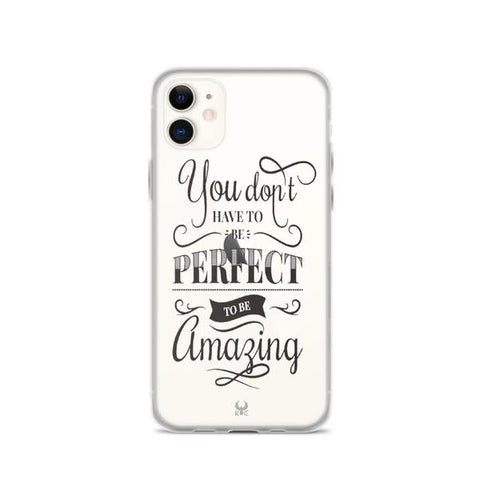 iPhone Cases Clear Be Amazing-iPhone 11