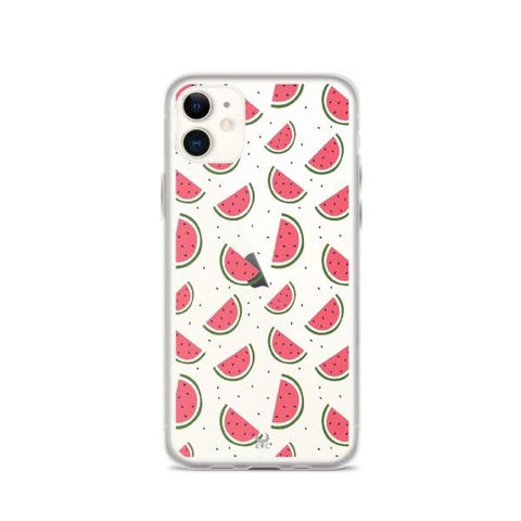 iPhone Cases Clear Juicy Watermelon-iPhone 11
