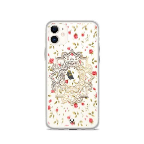 iPhone Cases Clear Spiritual Flowers-iPhone 11